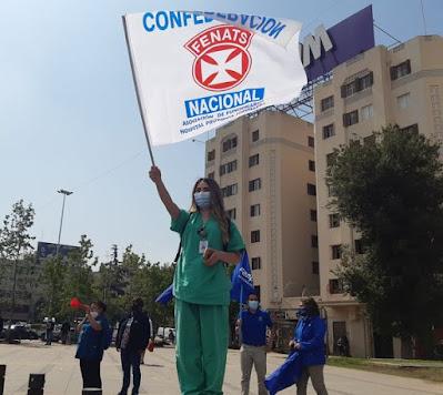 Nacional e indefinido: trabajadores de la salud comienzan movilización