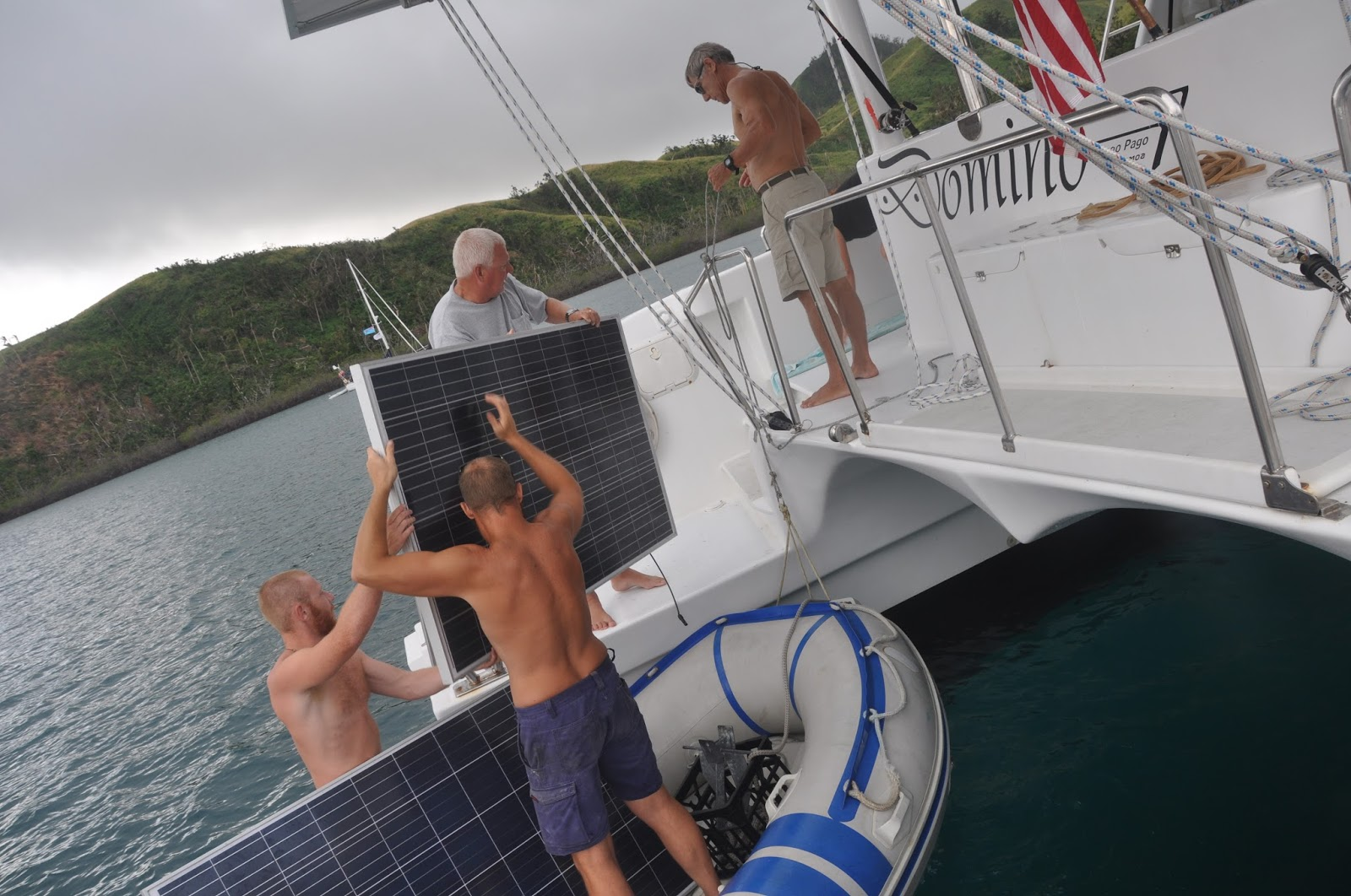 Domino Power Catamaran For Sale On Trawler Blogs