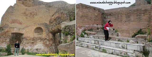 Termas del foro en Ostia Antica