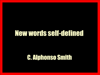 New words self-defined