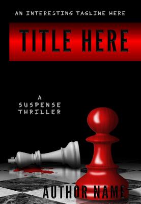 Suspense Thriller Premade Cover