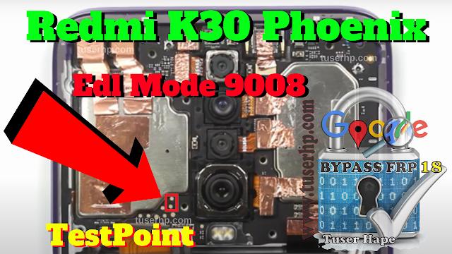 Testpoint Poco X2 Edl Mode 9008