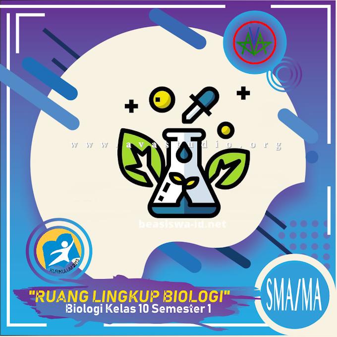 Rangkuman Materi Biologi - Ruang Lingkup Biologi