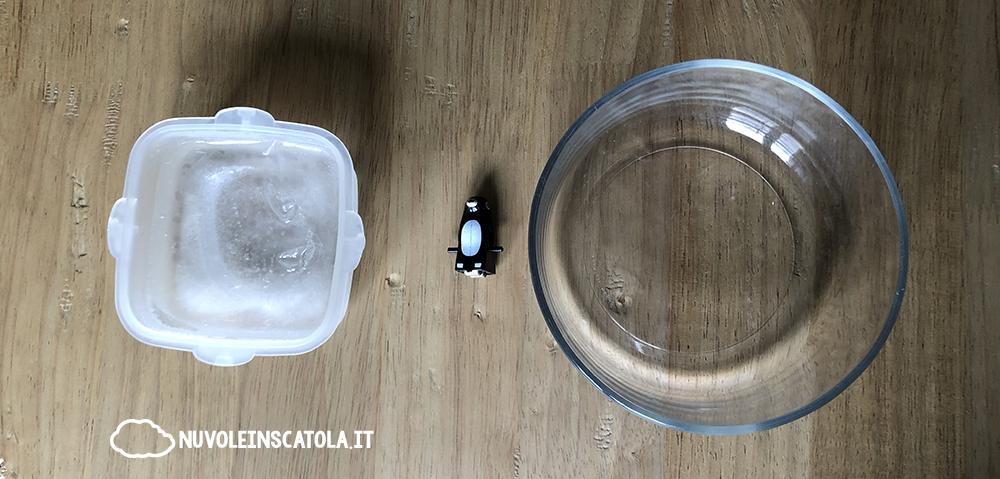 esperimento iceberg
