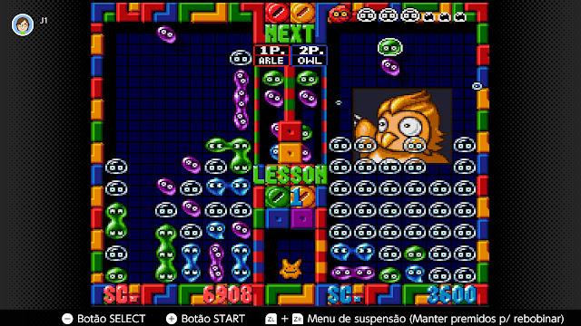Super Puyo Puyo 2 (SNES) ? puzzles por todos os lados