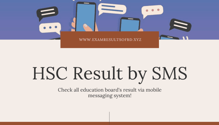 HSC Result 2020 by SMS, Alim Result 2020 by SMS, HSC Exam Result 2020 by SMS, Alim Exam Result 2020 by SMS