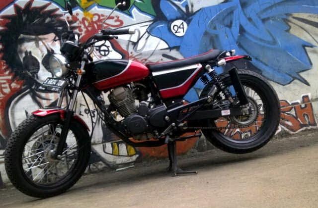 Modifikasi Honda Tiger Jap Style