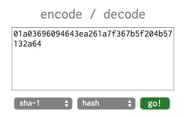 Source Sha-encoder Tools Online