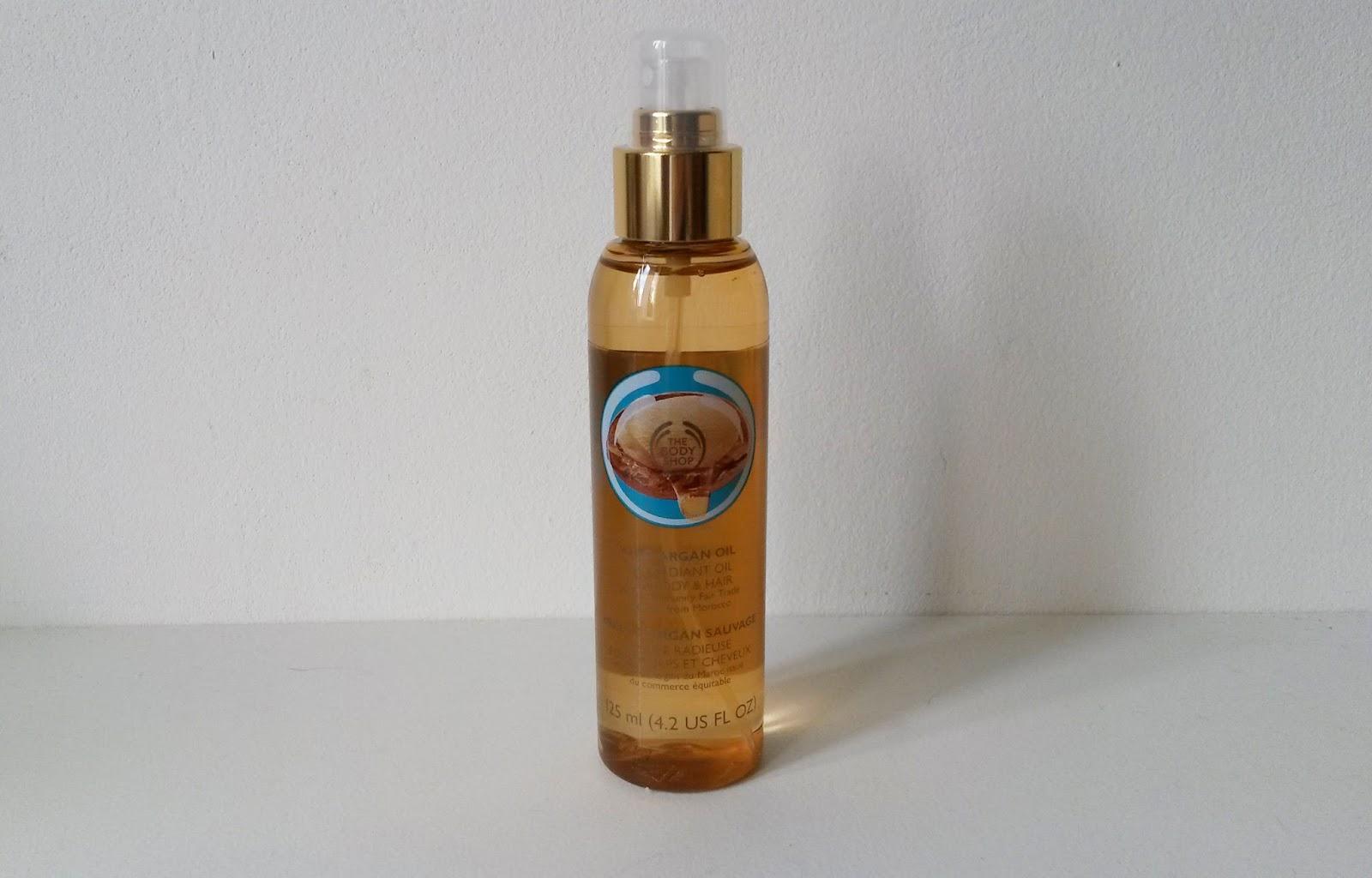 Coffret The Body Shop Huile d'argan sauvage huile
