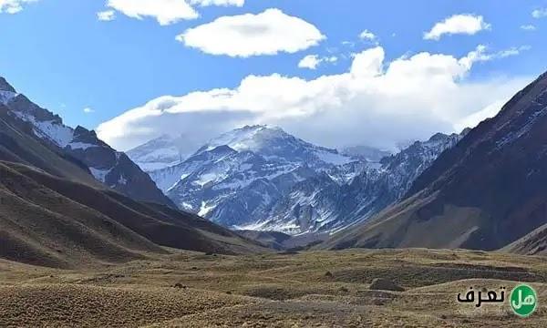 جبال الانديز اين تقع