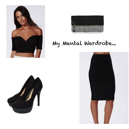 My Mental Wardrobe #6 // Glam Night Out