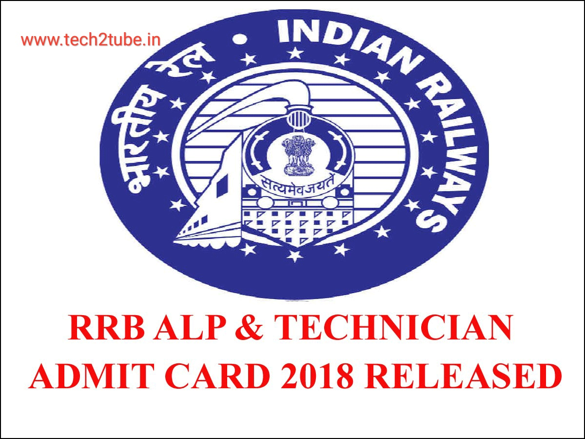 RRB ALP Admit Card 2018 for August 29 exam released; download here