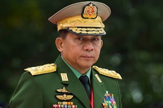 Panglima Kudeta Myanmar Ternyata Aktor Di Balik Genosida Muslim Rohingya