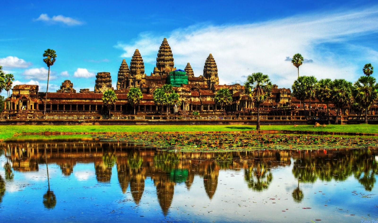 Angkor Wat Bisa dijadikan Tujuan Tempat Wisata di Kamboja