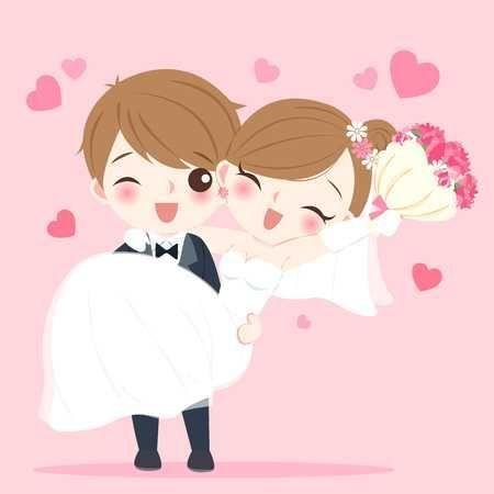 Gambar Kartun Lucu Menikah