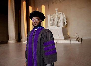 24-Year-Old Nigerian, Damilola Arowolaju Bags PhD In Law In USA