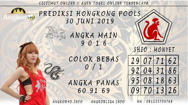 PREDIKSI HONGKONG POOLS 30 JUNI 2019