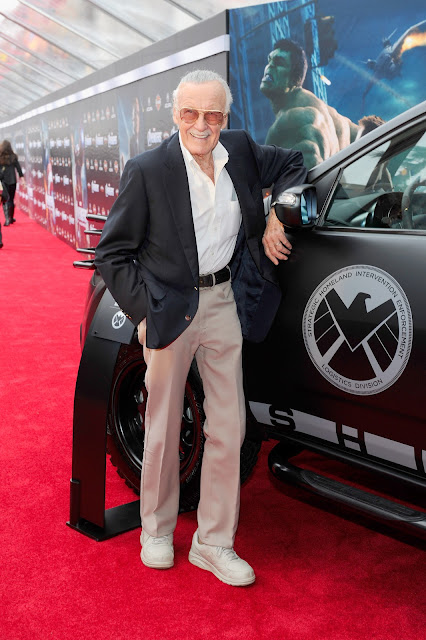 The Avengers Premiere: Stan Lee