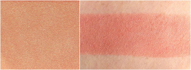 THE BALM COSMETICS  Hot Mama Blush (swatche en lumière artificielle)