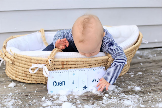 weekly baby photo ideas