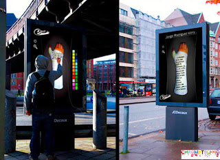 guerilla marketing advertising