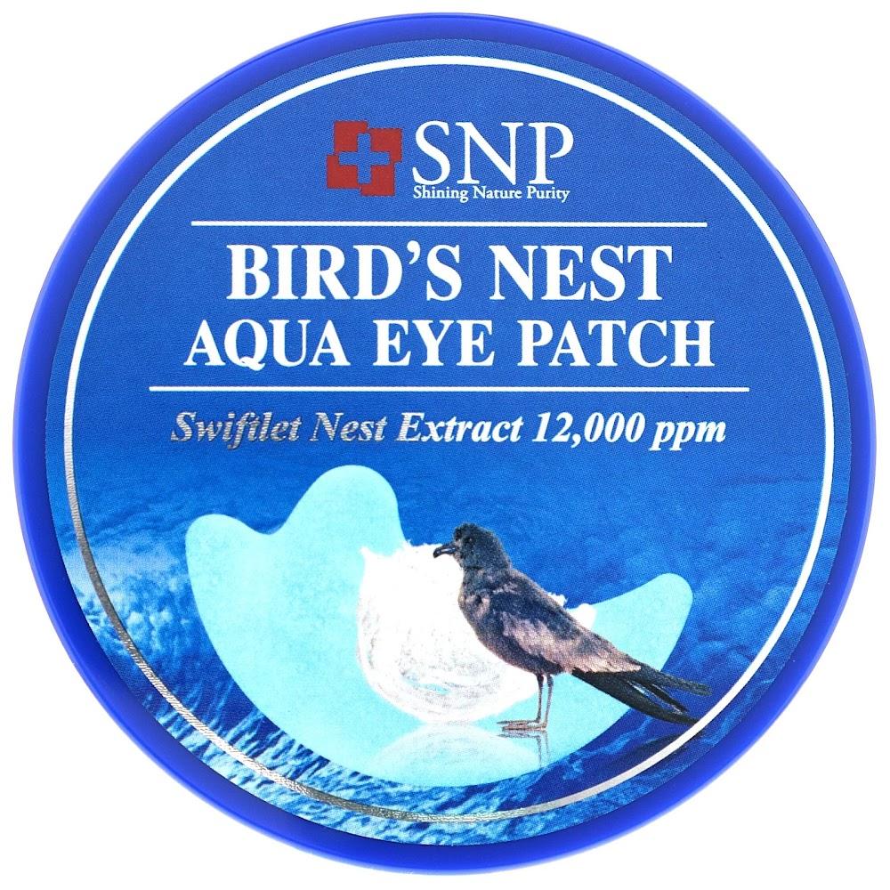 SNP, Патчи с экстрактом птичьих гнезд для кожи вокруг глаз, 60 шт.