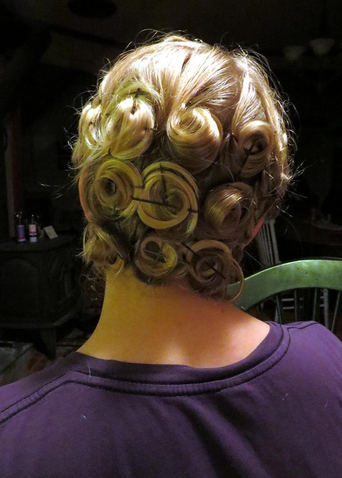 Hometown Victory Girls Pincurls For Medium Length Hair