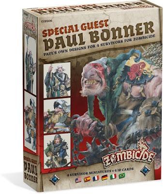 Zombicide Black Plague - Special Guest Box Paul Bonner