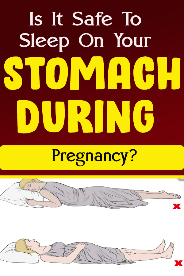 Is It Safe To Sleep On Your Stomach During Pregnancy