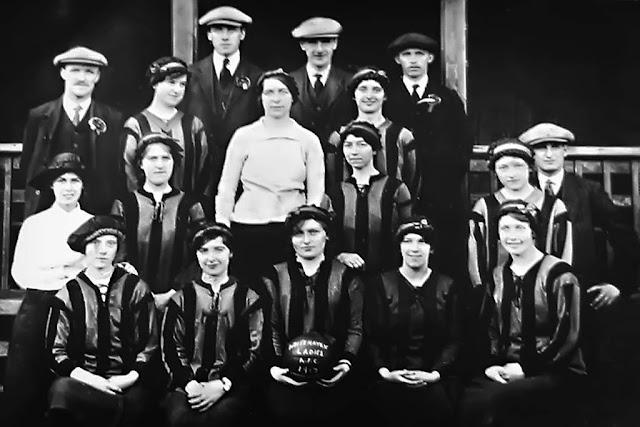 Whitehaven Ladies Football Team, 1917