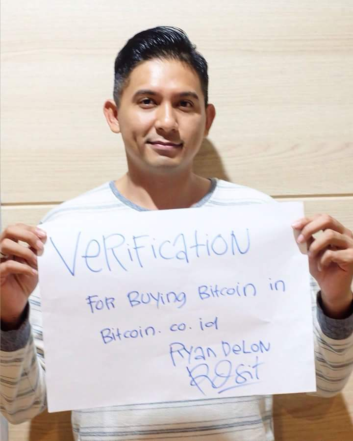 verifikasi akun di bitcoin.co.id