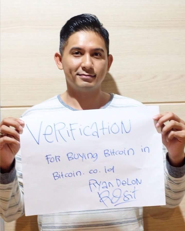 verifikasi akun di bitcoin.co.id
