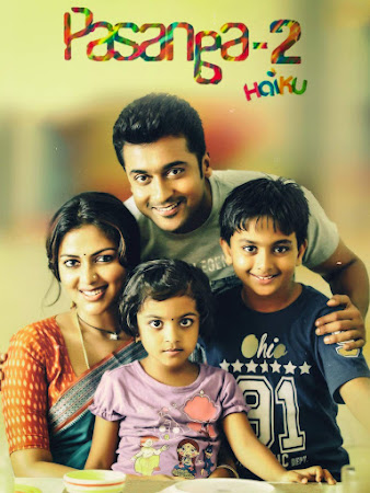 Poster Of Pasanga 2 In Hindi Dubbed 300MB Compressed Small Size Pc Movie Free Download Only At worldfree4u.com