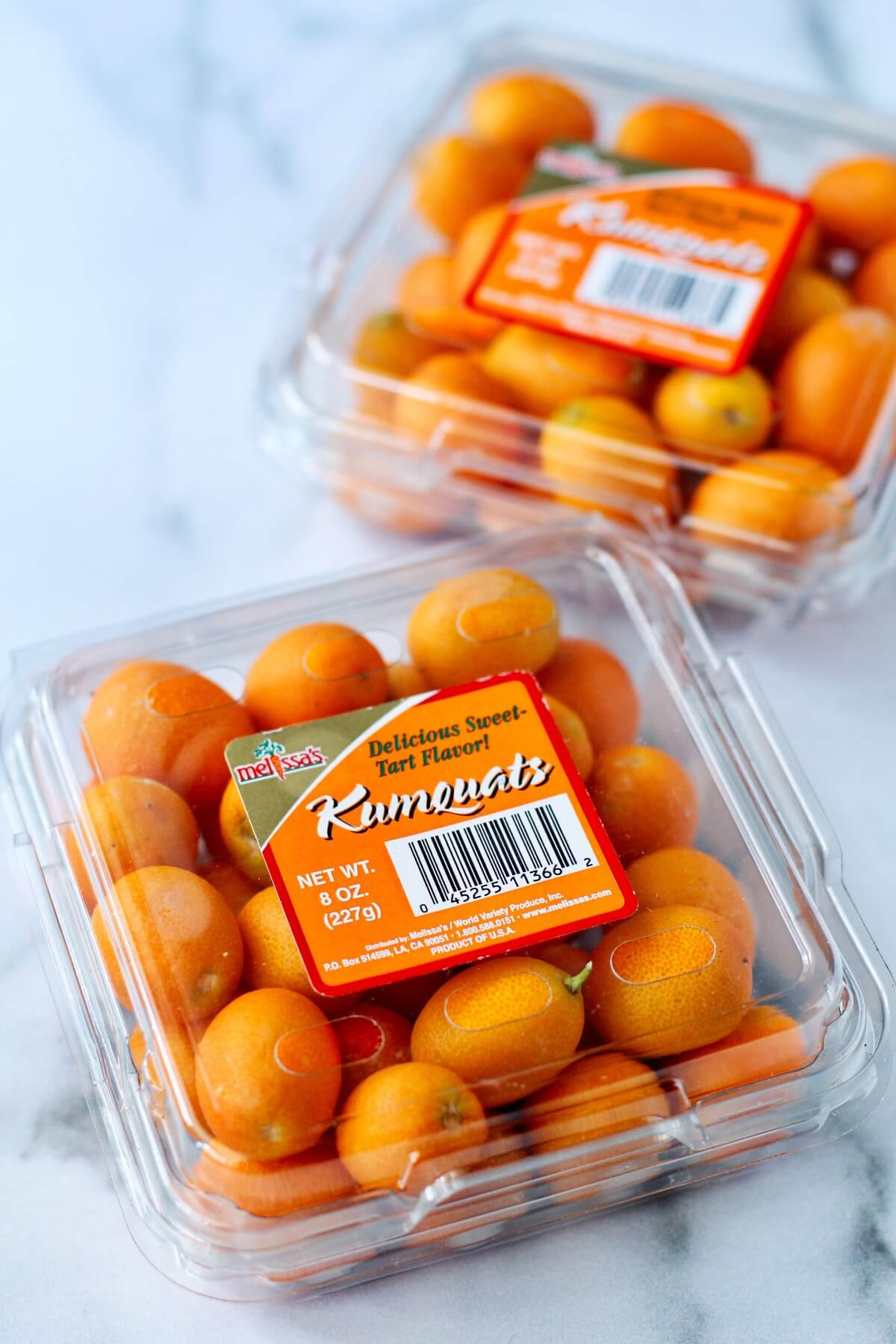 Kumquats in clamshells