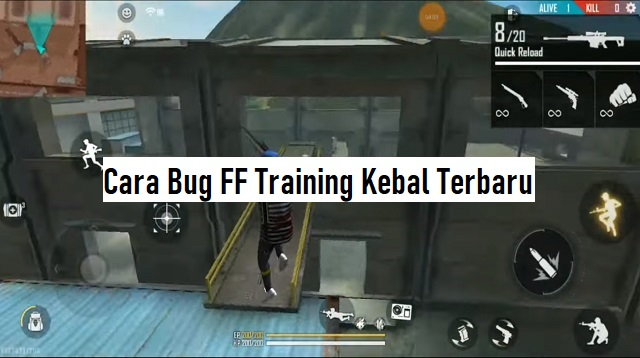 Cara Bug FF Training Kebal