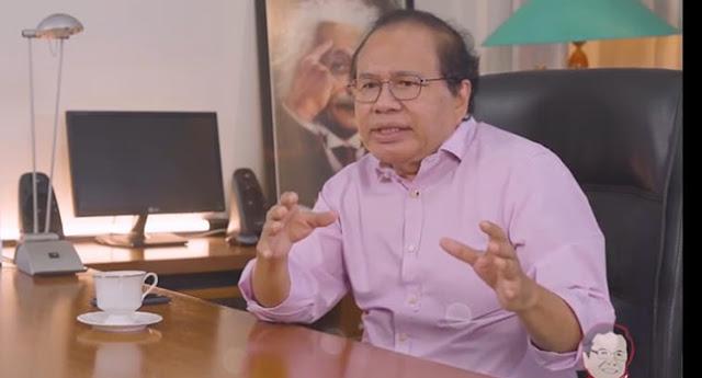 Rizal Ramli Janji Setop Kritik Pemerintah Jika Kalah Debat Lawan Luhut