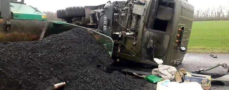 У Кіровоградській області військова вантажівка влетіла у бригаду дорожників: двоє загиблих