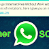 "Beware of new WhatsApp scam offering ""free internet without Wi-Fi"""