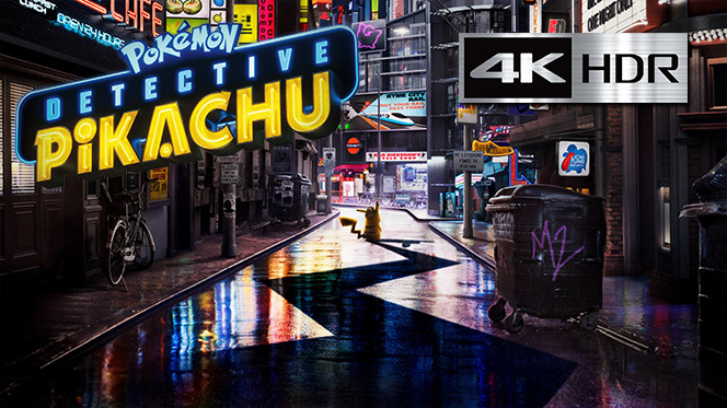 Pokémon Detective Pikachu (2019) Bluray 4K HDR Completo ISO Latino-Inglés