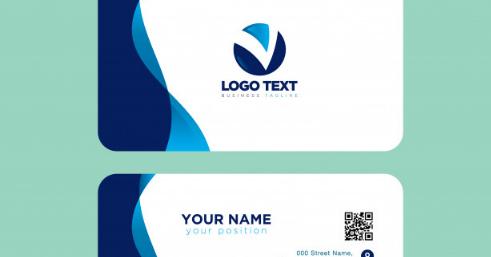 Download Desain Kartu Nama Simpel & Elegan Format EPS ...