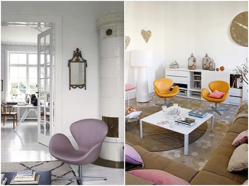 Silla Swan Arne Jacobsen