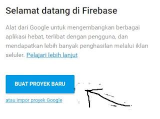 Cara Menyimpan File HTML atau CSS, Ke Firebase