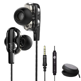 pTron Boom3 Ultima 4D Dual Driver earphone