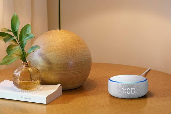 Amazon reveals Echo Dot with clock