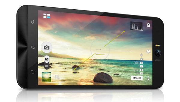 ASUS ZenFone Selfie camera interface