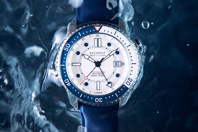 The Bremont Waterman diving watch