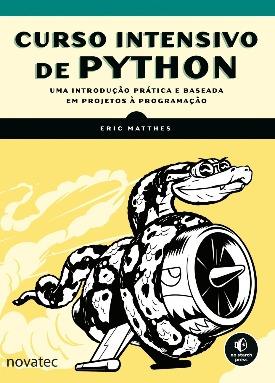 Livro: Curso intensivo de python / Autor: Eric Matthes