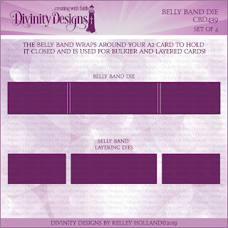 Divinity Designs Custom Die: Belly Band