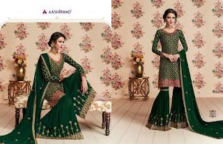 Aashirwad Nafiza Georgette pakistani Suits wholesale