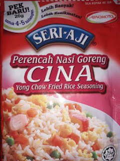 Resepi Nasi Goreng Cina Seri-Aji